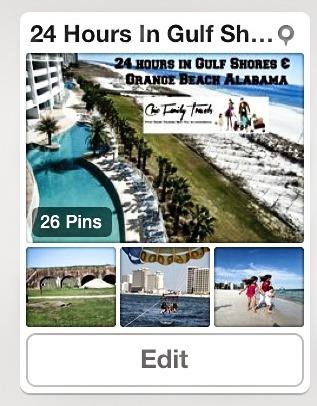 Gulf Shores Pinterest Board