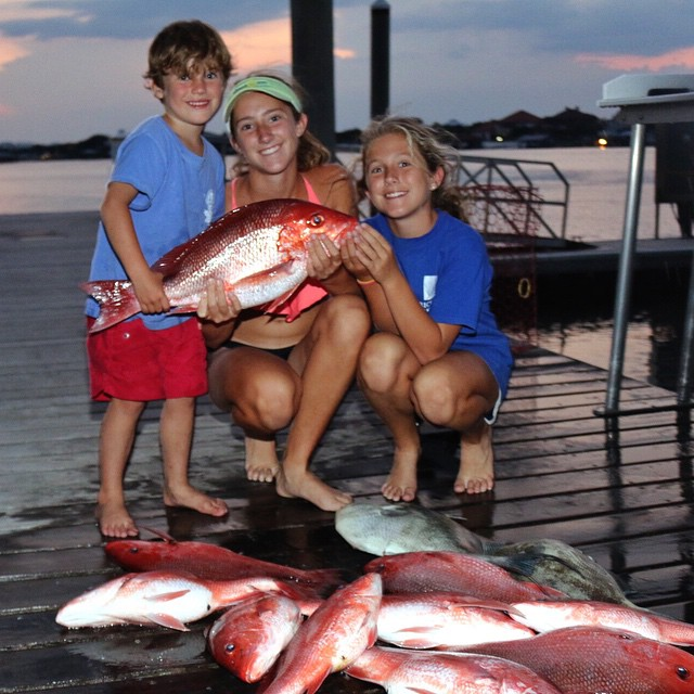 Snapper Fishing in Orange Beach
