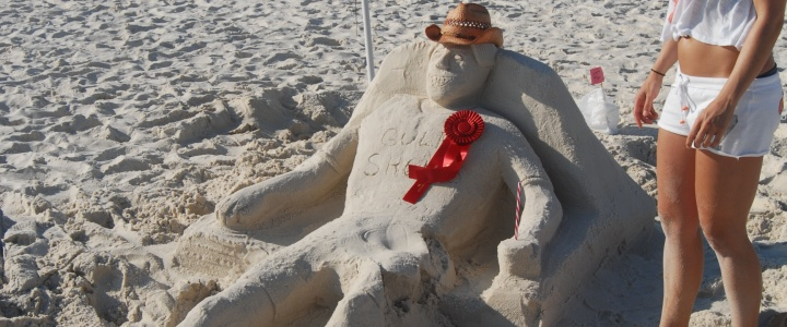 Gulf Shores Shrimp Festival Sand Sculpture Contest