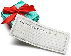 Alabama Beach Vacation Gift Certificate