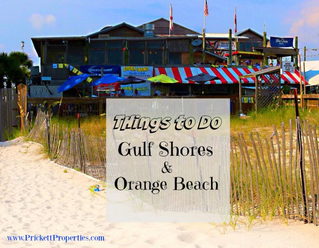Gulf Shores Orange Beach Things To Do