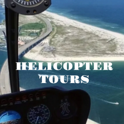 Helicopter Tours in Gulf Shores and Orange Beach