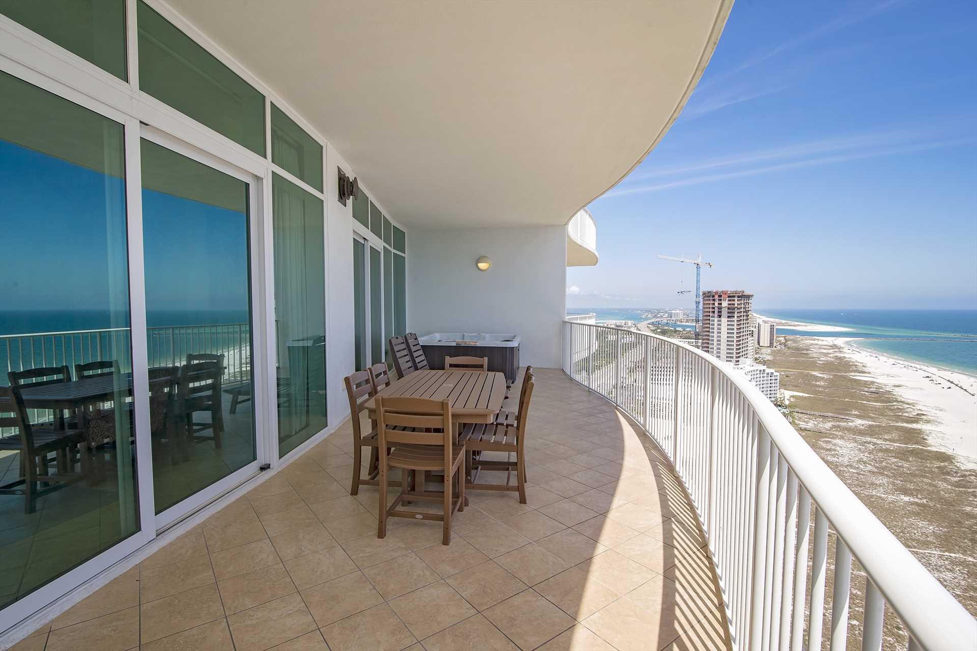 Turquoise Place 2102C Balcony
