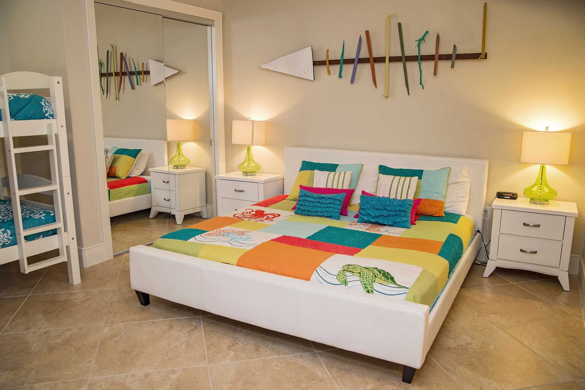 Turquoise Place 2102C Guest Bedroom 1