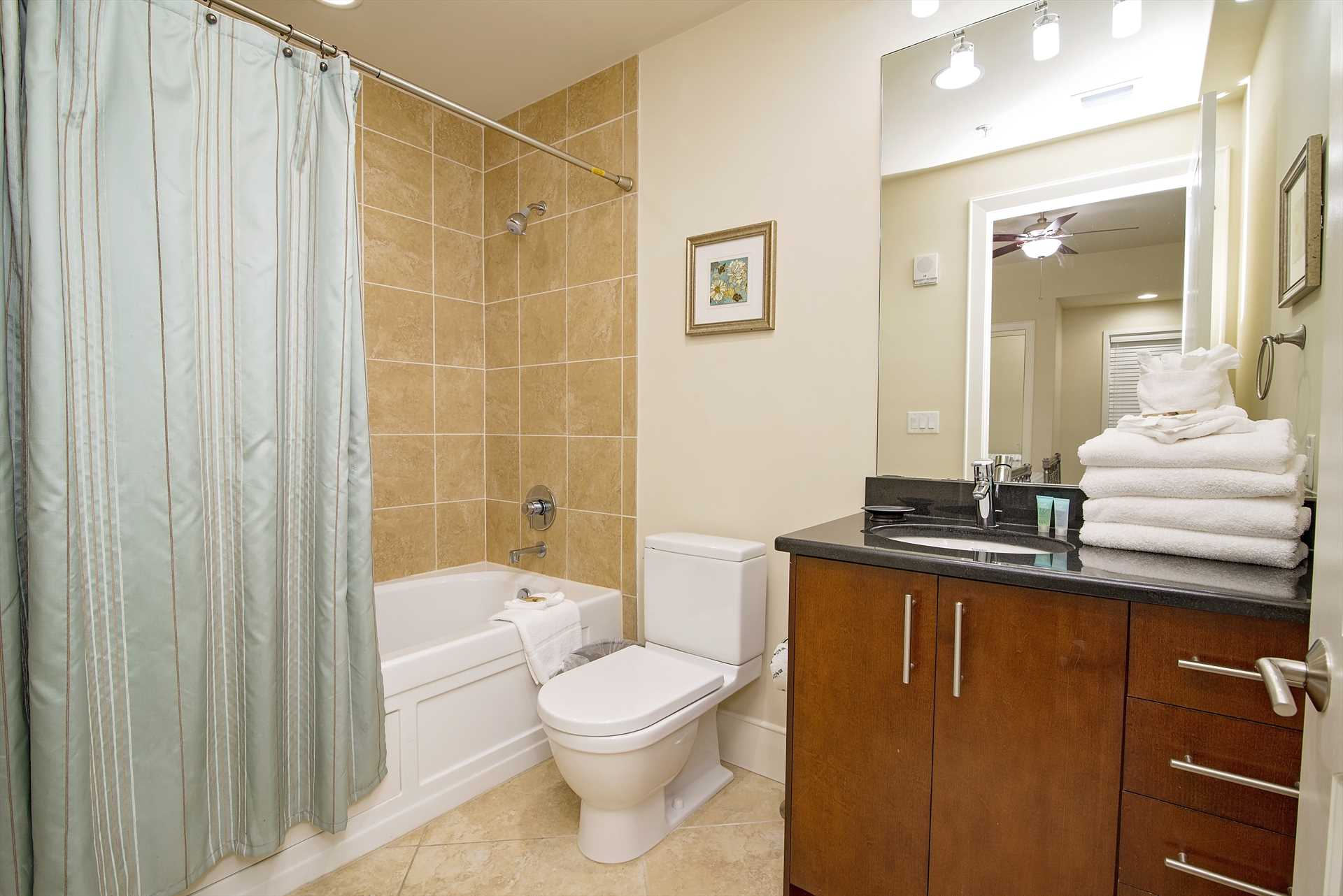 Turquoise Place 603C Guest Bathroom 1