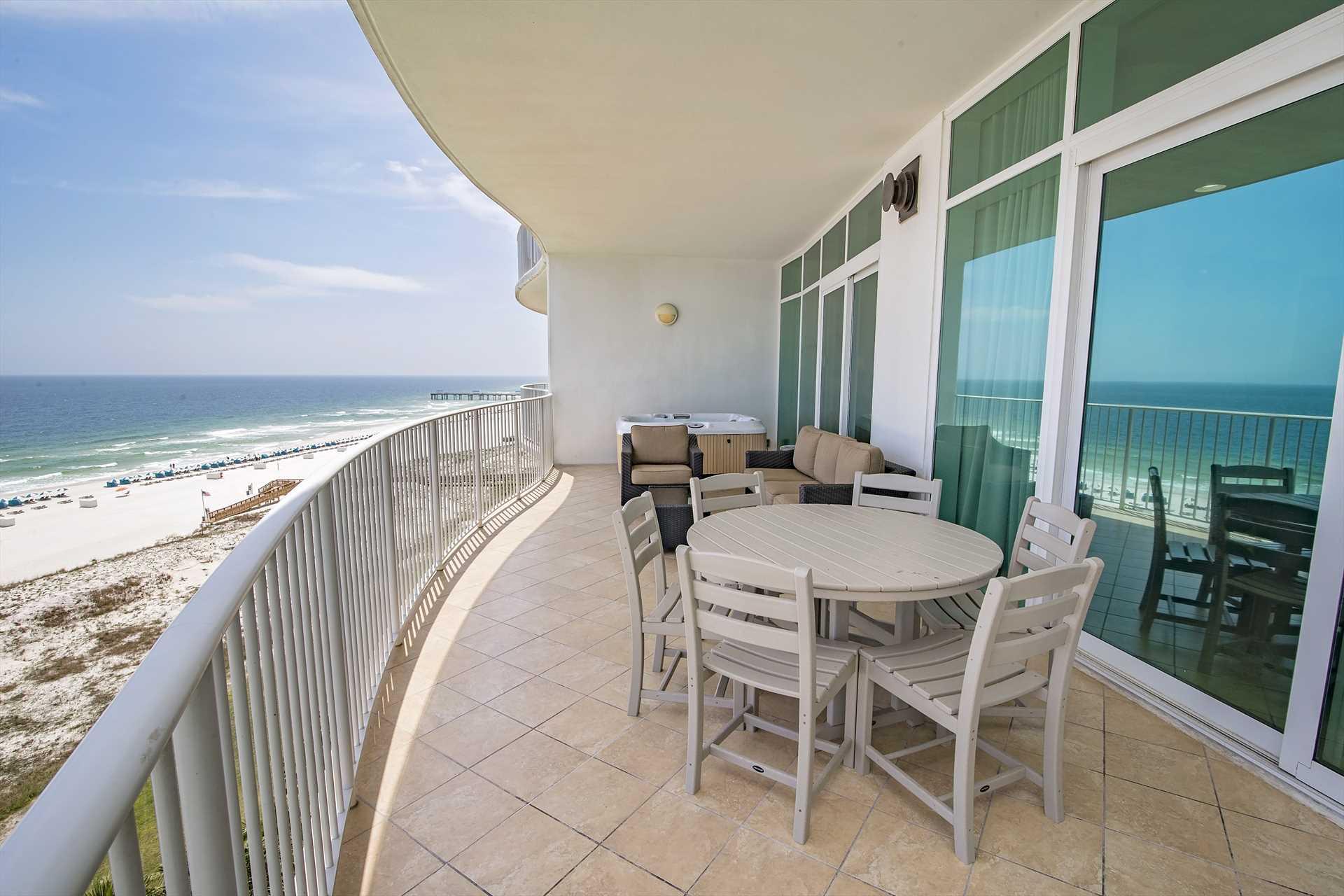Turquoise Place 603C Balcony